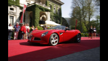 L'Alfa Romeo 8C Spider a Villa d'Este 2005