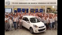 Primeiro popular japonês no Brasil, March alcança 100 mil unidades vendidas