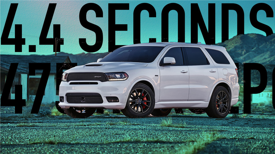 The Dodge Durango SRT is quicker than these 10 cars