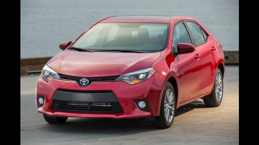 Toyota investirá R$ 3 bilhões para produzir próximo Corolla no México