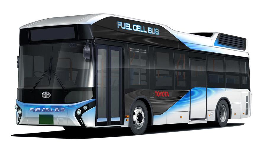 Toyota Fuel Cell Bus, acil durum güç kaynağı olarak kullanılabiliyor