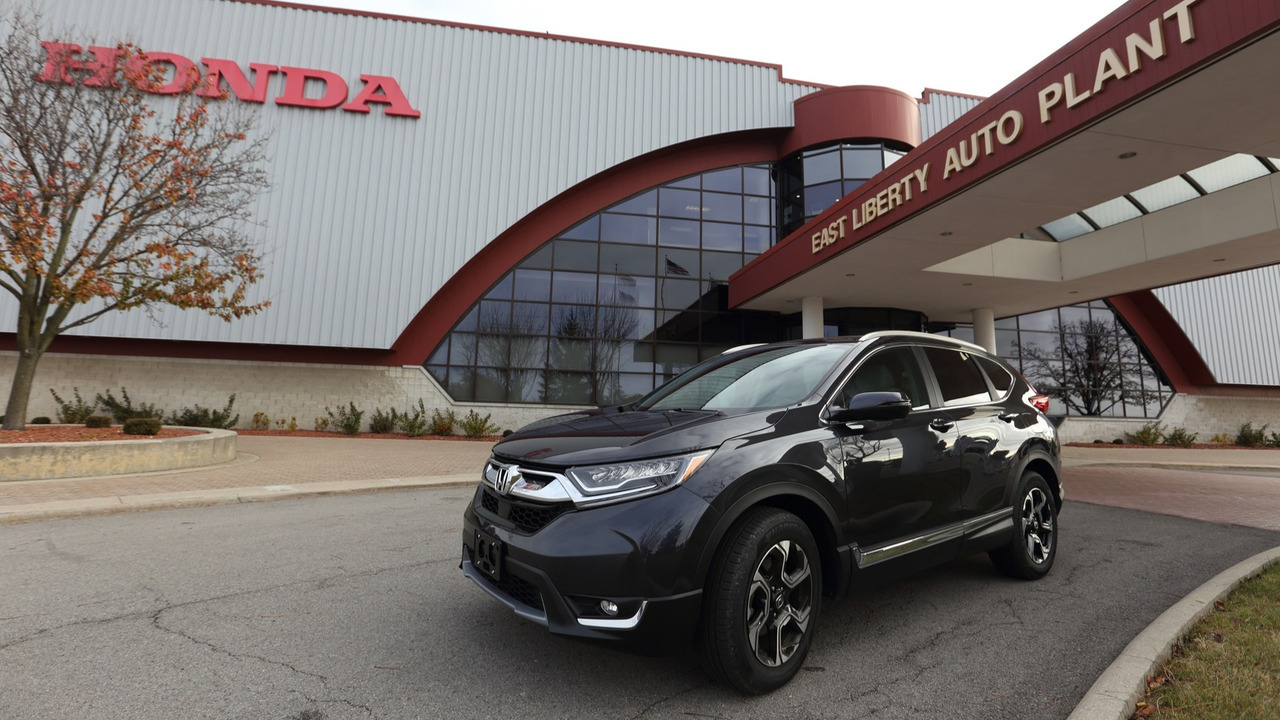 2017 Honda CR-V at East Liberty