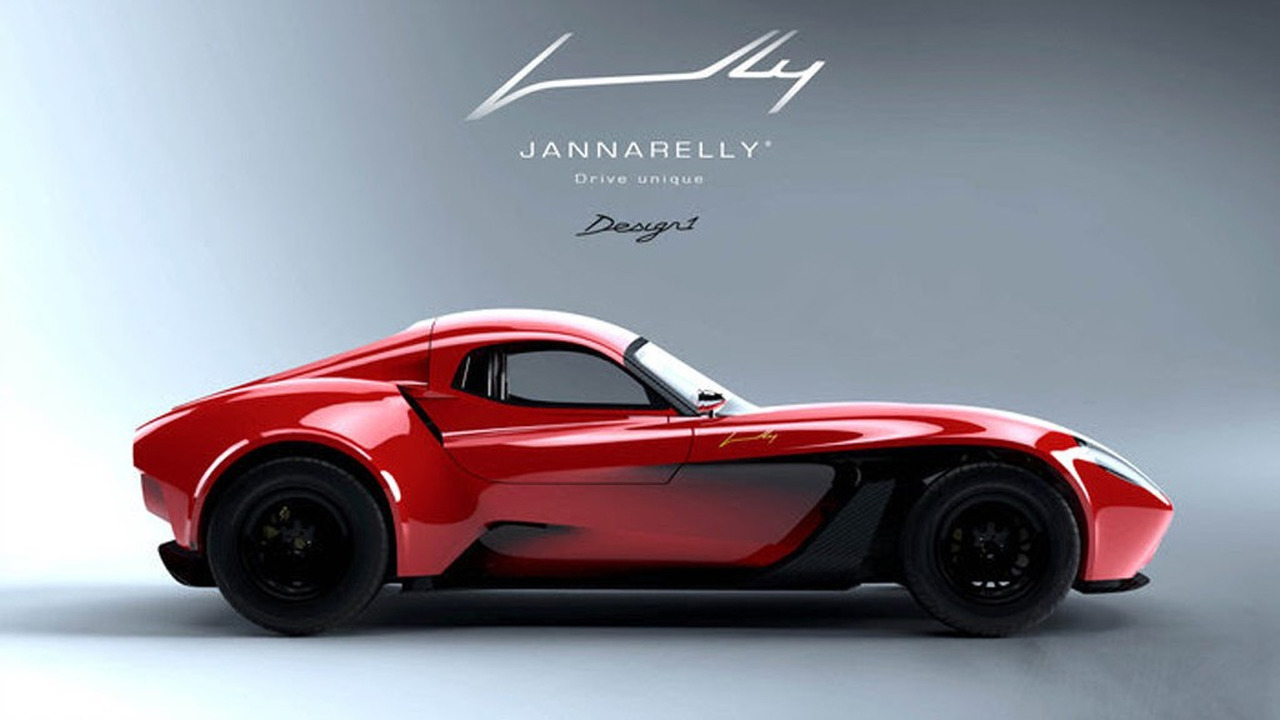 Jannarelly Design-1 with hardtop