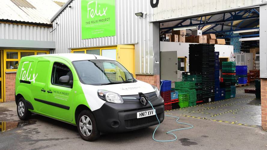 Electric Renault van offers a helping hand in London