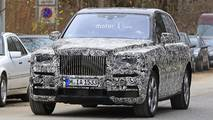 Rolls-Royce Cullinan new spy images