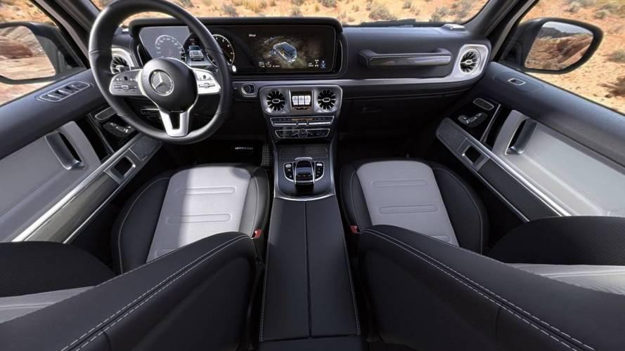 2019 mercedes benz g class interior photo for Mercedes s klasse interieur