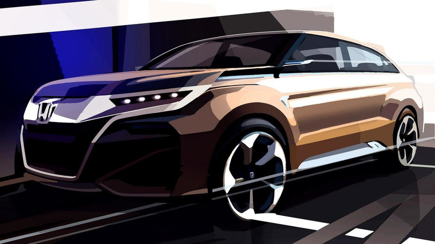 Honda compact SUV concept teased, to debut in Shanghai