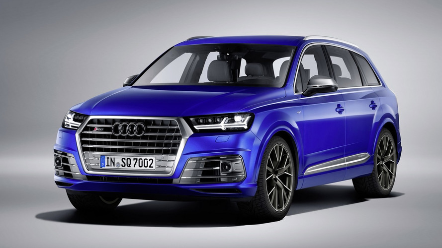 Audi's SQ7 TDI diesel SUV beast on sale mid-May