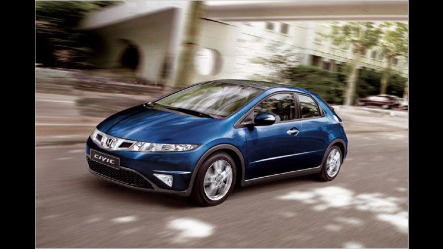 Raumfähre für Einsteiger: Honda Civic mit 100-PS-Benziner