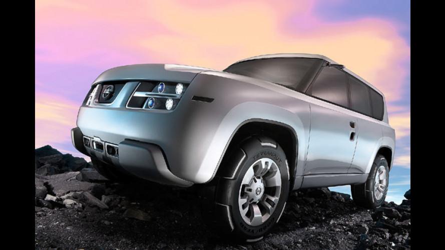 Nissan Terranaut: Hightech-Labor für Bond, Croft und Co?