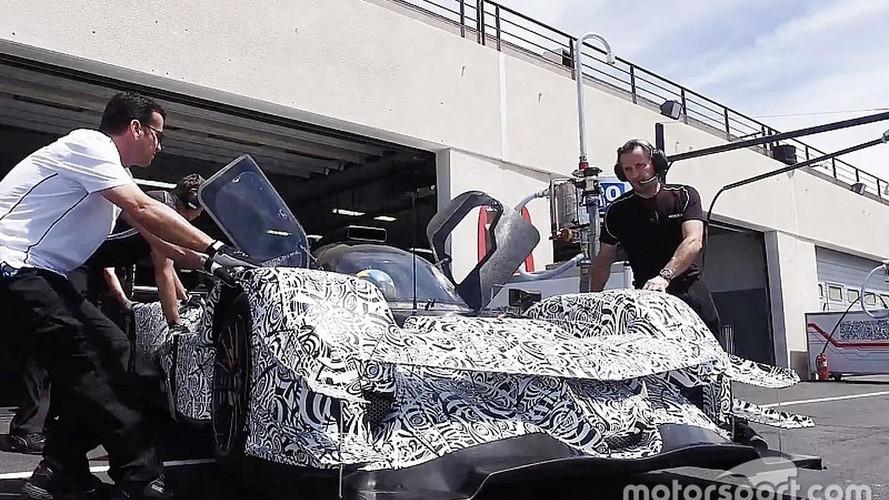 Acura ARX-05 Race Car Begins Testing In Europe