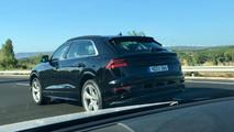 Audi Q8 2018, fotos espía