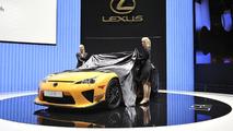 Lexus LFA Nürburgring Edition live in Geneva - 01.03.2011