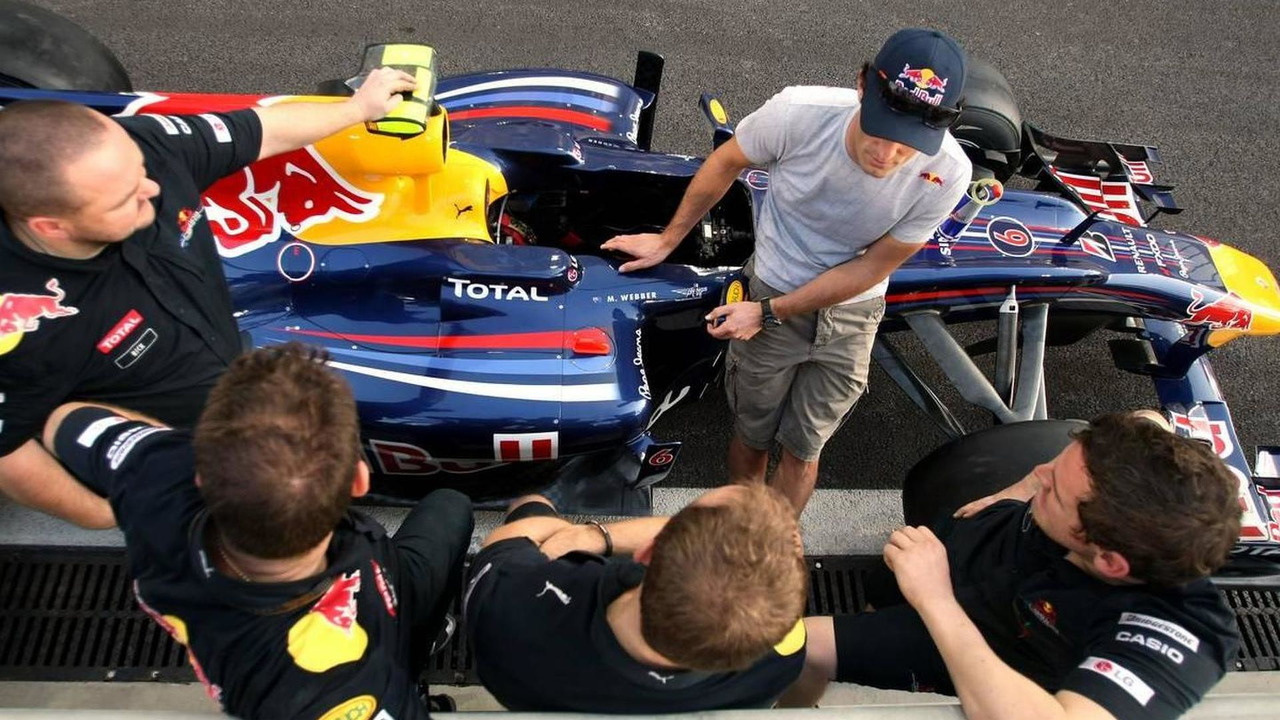Mark Webber (AUS), Red Bull Racing - Formula 1 World Championship, Rd 19, Abu Dhabi Grand Prix, 11.11.2010 Abu Dhabi, Abu Dhabi