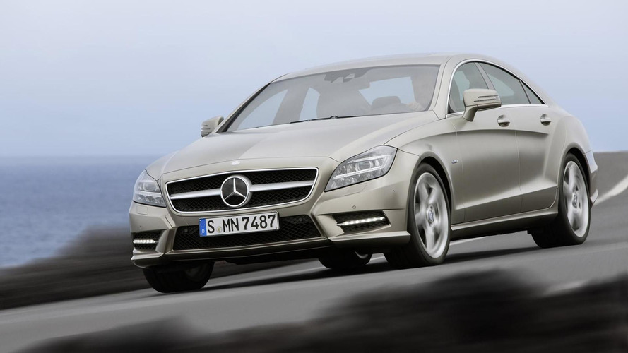 2012 Mercedes CLS pricing announced,more images released