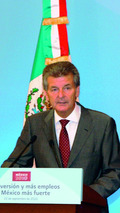 Otto Lindner, Chairman of the Board of Management of Volkswagen de México 22.09.2010