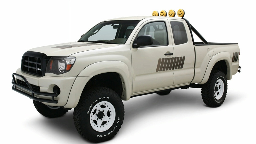 Toyota Tacoma Truck Retro Concept at SEMA 2008