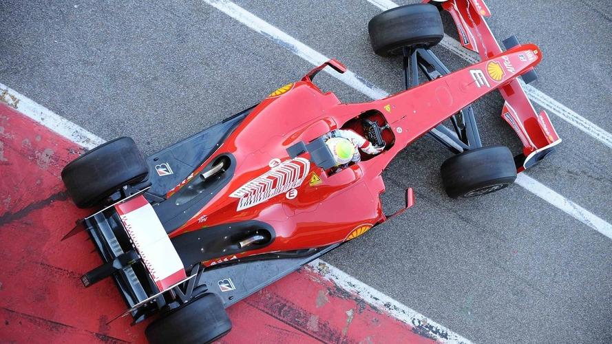 Ferrari tested unique KERS solution