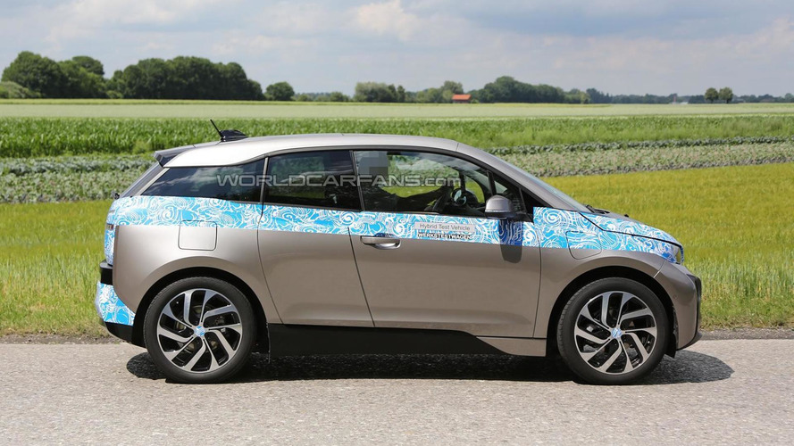 BMW i3 spied almost undisguised