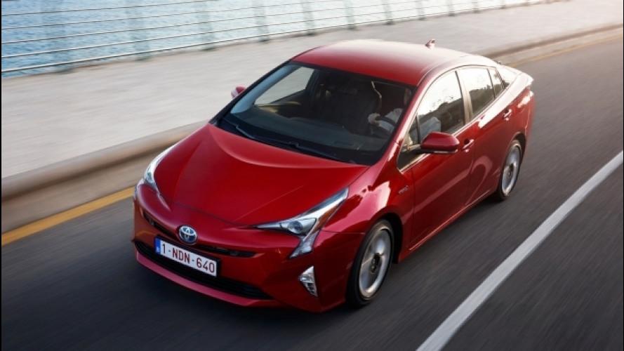 Toyota Prius, elettrica per il 73% del tempo