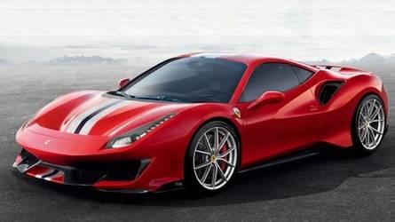 Ferrari 488 Pista leak reveals aggressive look for racy machine