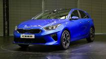 Kia Ceed at the 2018 Geneva motor show