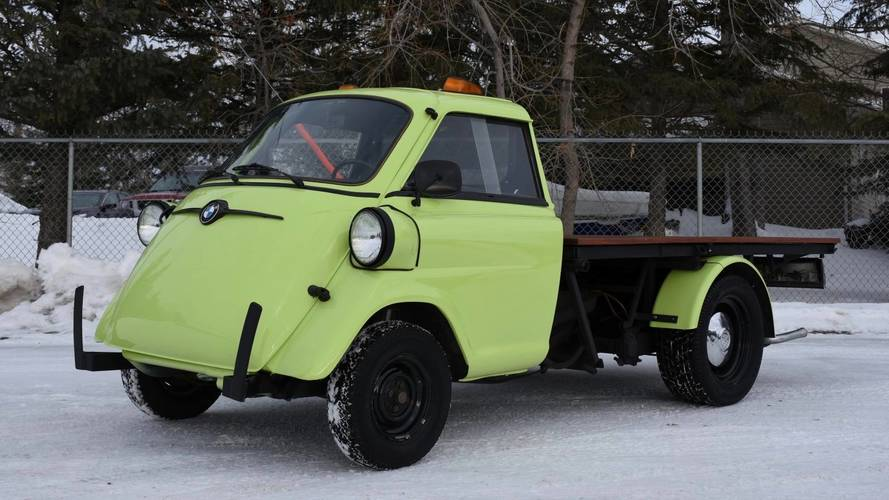 Be Unique With This Isetta Pickup Converted By BMW Technician