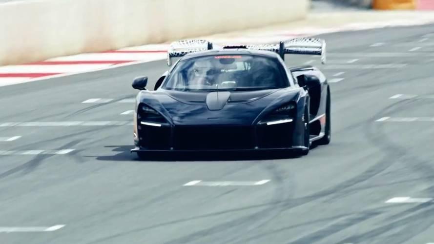 VIDÉO - La McLaren Senna s'attaque au circuit !