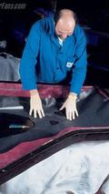 Carrera GT lamination of body parts