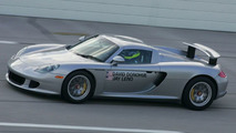 Speed Records in Porsche Carrera GT