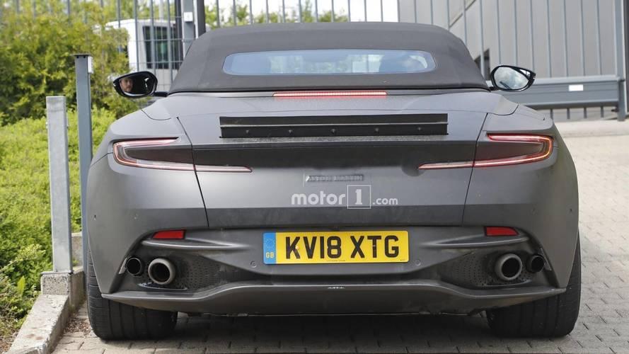 Aston Martin DBS Superleggera Volante Spied [UPDATE]