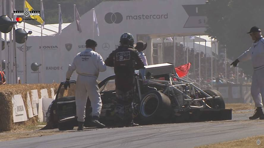 See The 8 Biggest Crashes And Close Calls From Goodwood