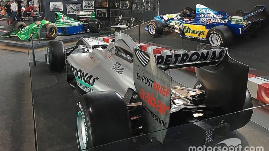 Inaugurada la nueva exposición de Michael Schumacher