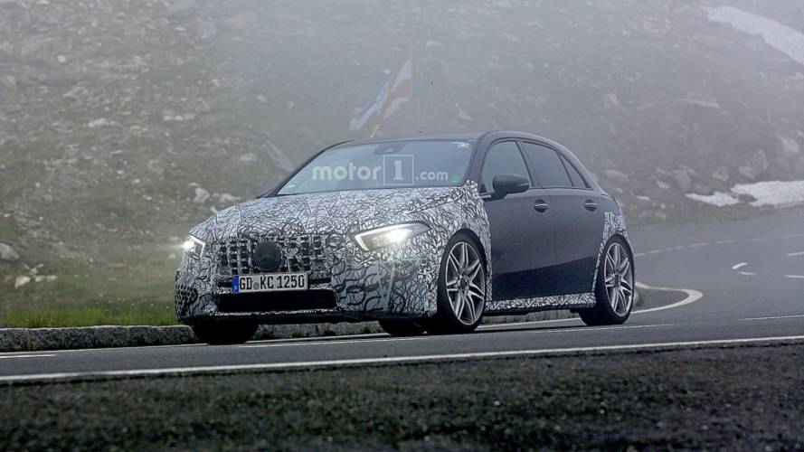New Mercedes-AMG A45 Looks Super Aggressive Even With Camouflage