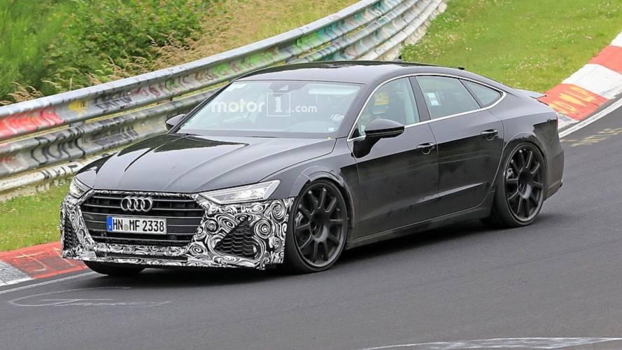 VIDÉO - L'Audi RS 7 Sportback déambule au Nürburgring