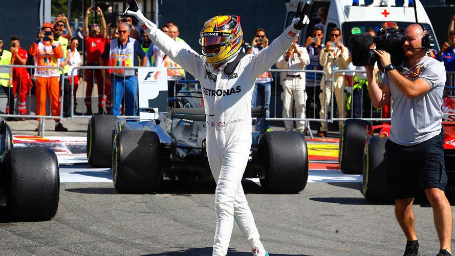 Plácida victoria y liderato para Hamilton en Monza