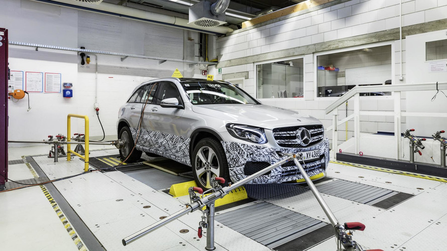 Mercedes GLC F-Cell Pre-Production Model Previewed Before IAA