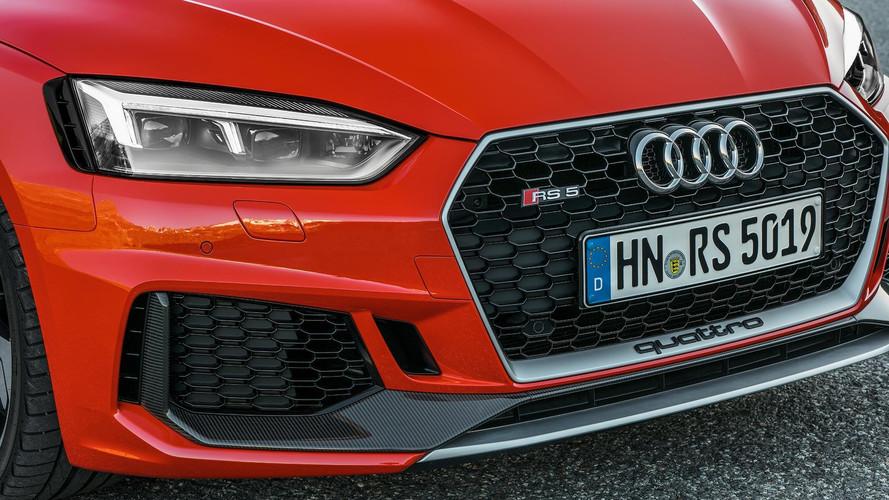 Audi présente les RS 4 et RS 5 Carbon Edition (2017)