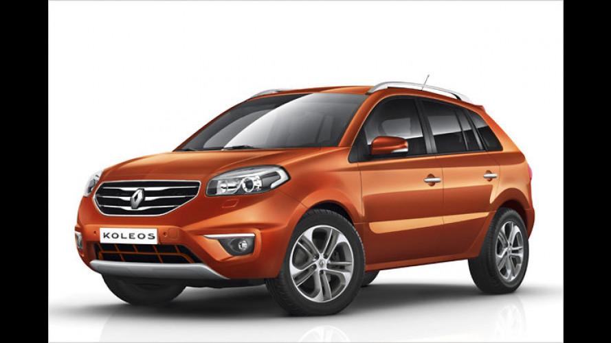 Renault Koleos aktualisiert: Neue Optik, weniger Verbrauch