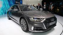 2018 Audi A8 live images