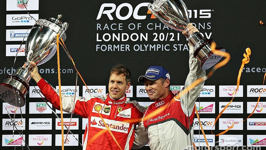 Sebastian Vettel wins Race of Champions, defeats Tom Kristensen