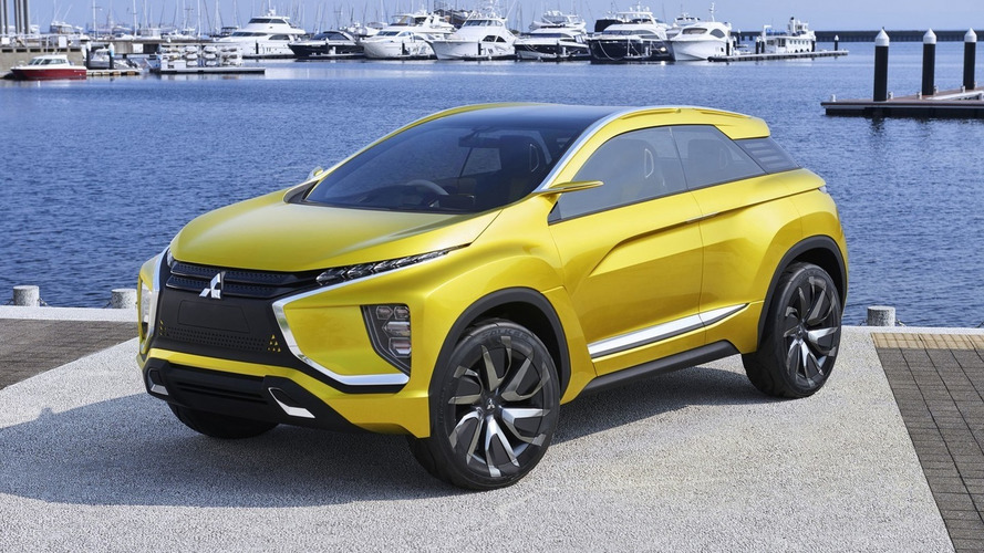 Mitsubishi's new CUV will debut in Geneva, go on sale next year