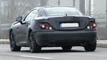 Next Generation Mercedes SLK Prototype Spied Wearing Heavy Camouflage
