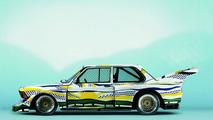 Roy Lichtenstein (USA) 1977 BMW 320I Group 5 Race Version art car - 1600