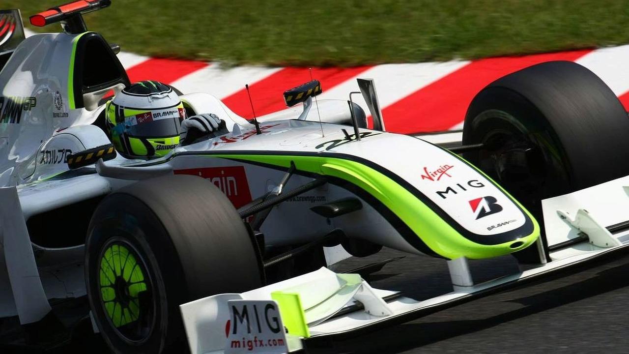 Jenson Button (GBR), Brawn GP, BGP001, Japanese Grand Prix, qualifying, Suzuka, Japan, 03.10.2009