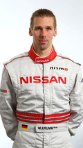 Nissan GT-R FIA GT driver Michael Krumm