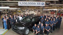 BMW builds 1 millionth X5 in South Carolina