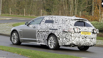 Jaguar XF Sportbrake spy photo released by Jaguar
