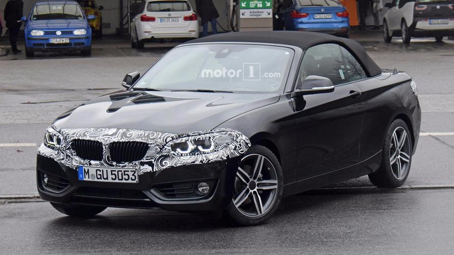 BMW 2 Serisi Convertible burun estetiğini sergiliyor