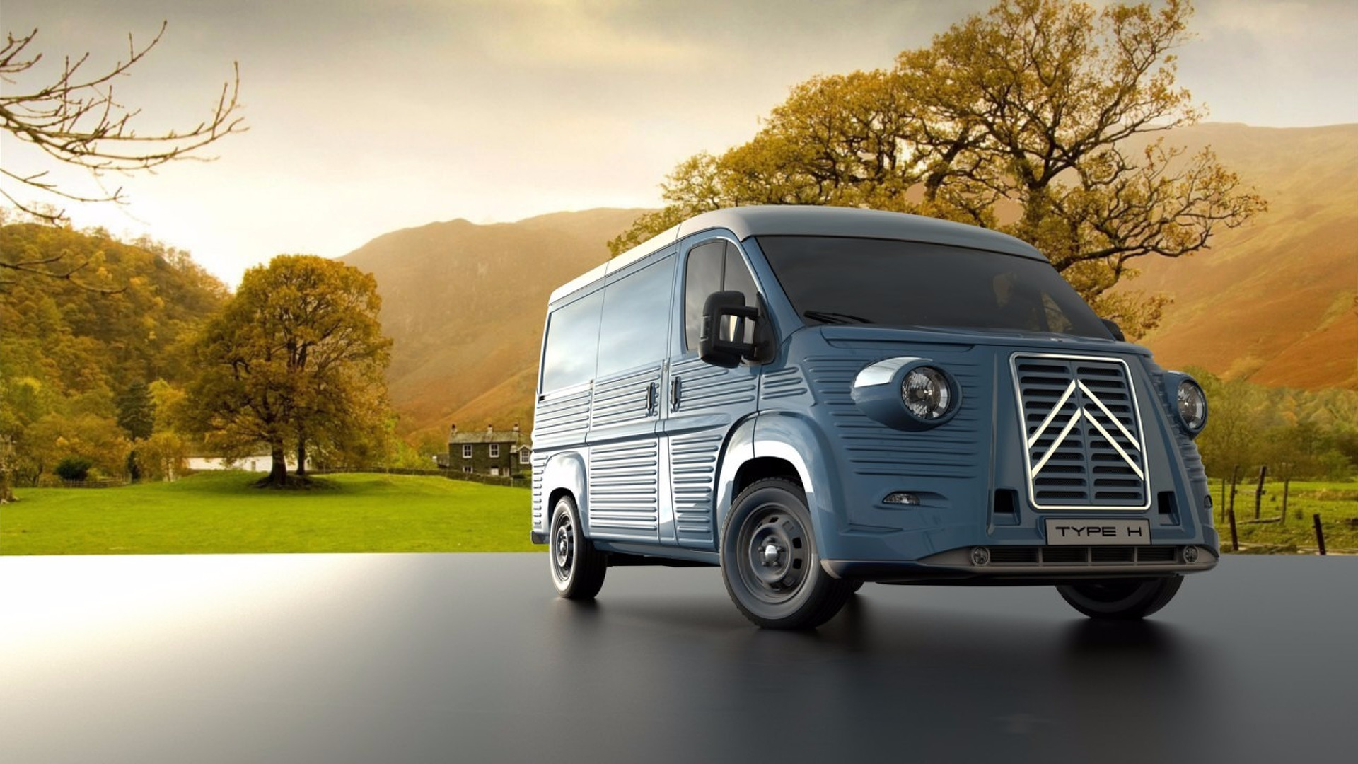 Body Kit Transforms New Citroen Jumper Into A Classic Type H Van